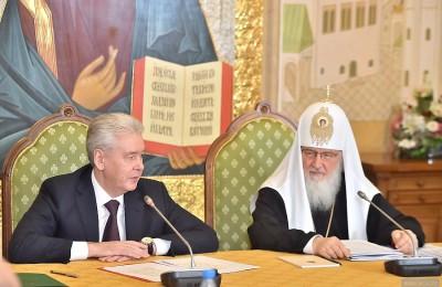 Мэр Москвы, Сергей Собянин, православные храмы