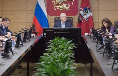 Мэр Москвы, Сергей Собянин, имущественный налог
