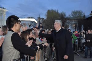Мэр Москвы Сергей Собянин пригласил жителей и гостей города на фестиваль «Московская весна»