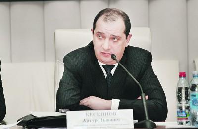 Артур Кескинов, капитальный ремонт