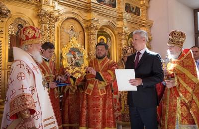 Москва, мэр Москвы, Сергей Собянин, патриарх Кирилл