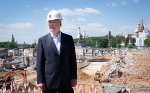Москва, мэр Москвы, Сергей Собянин, строительсво