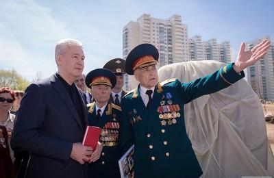 Москва, мэр Москвы, Сергей Собянин, 70-летие Победы