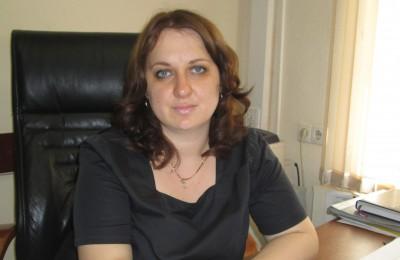 Заместитель главы управы по работе с населением Ольга Сафонова