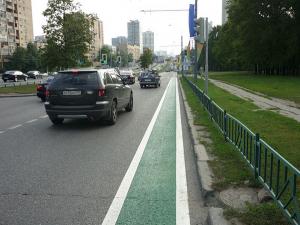 В столице при реконструкции дорог будут учитывать создание велодорожек