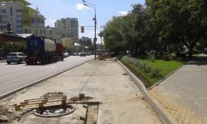 Ход работ на Люсиновской улице в Донском районе