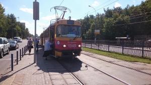 На юге Москвы прошла экскурсия на трамвае