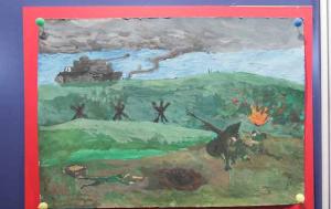 Курская дуга в рисунках детей