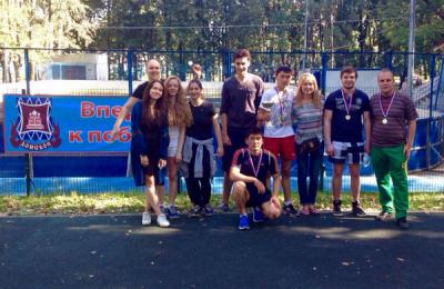 Молодежная палата Донского района стала победителем турнира по волейболу