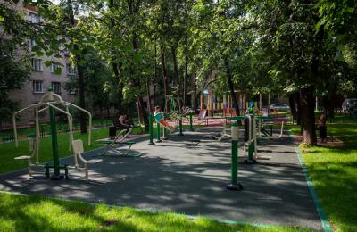20 тысяч дворов реконструировали в столице