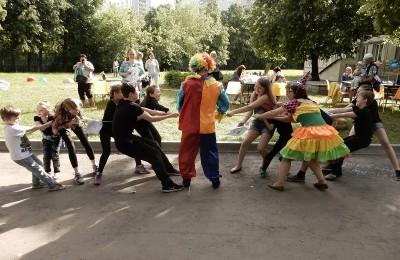 Жители ЮАО предлагают, чтобы в программу празднования Дня города включили развлекательные мероприятия для детей