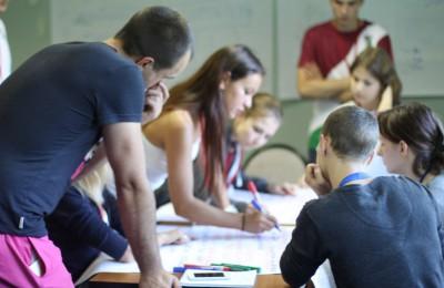 Тренинг по социальному проектированию. Ребята из ЮАО разрабатывают свои проекты
