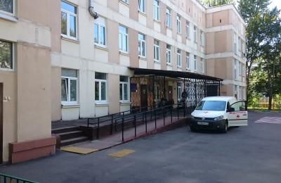 Здание поликлиники в ЮАО