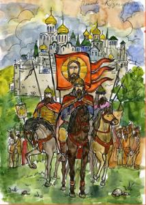 В Донском районе пройдет выставка патриотических рисунков