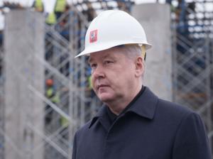 Сергей Собянин рассказал об открытии новой эстакады в Москве