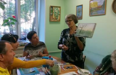 Жителям Донского района рассказали о построении пейзажной композиции