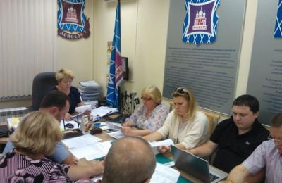 Депутаты муниципального округа Донской согласовали план мероприятий на 4 квартал 2015 года