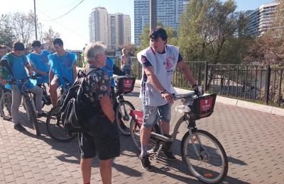 Третий этап велопробега «Я люблю Москву» прошел по территории ЮАО