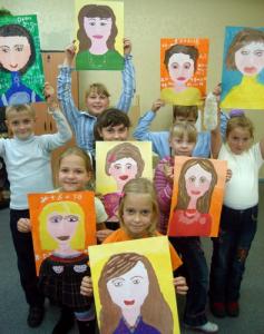 В Донском районе дети нарисуют своих первых учителей