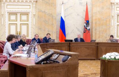 Сергей Собянин выслушал доклад о ситуации с ДТП в Москве