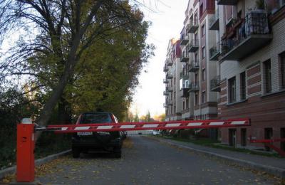 В Донском районе появятся еще два шлагбаума