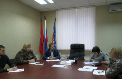 Координационный совет в Донском районе провел очередное заседание