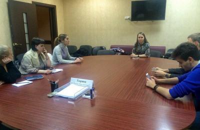 Представители молодежной палаты обсудили будущие проекты