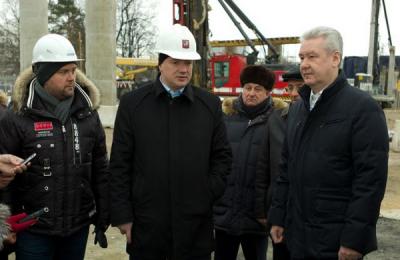 Мэр Москвы Сергей Собянин рассказал о благоустройстве основных городских магистралей