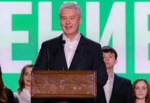 Сергей Собянин выступил с речью на Съезде молодых парламентариев в Москве