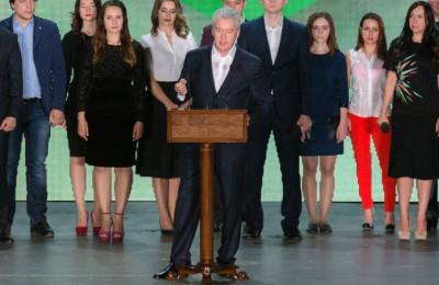 Сергей Собянин выступил перед молодыми парламентариями Москвы
