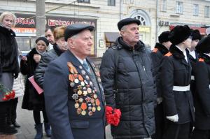 ветеран ВОВ Вениамин Клинский