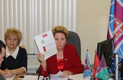 Татьяна Кабанова (справа) подвела итоги работы за год