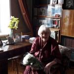 Также грамоту вручили ветерану Аэлите Тарасовой