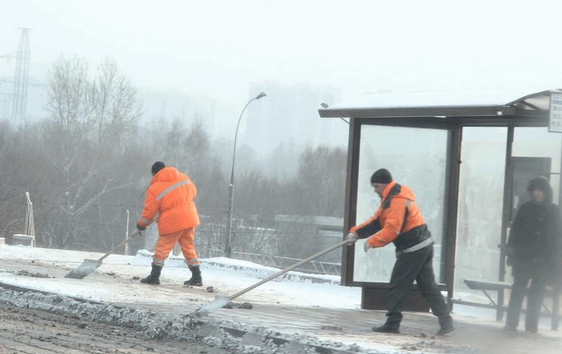 «Желтый» уровень опасности объявлен в столице России из-за снега