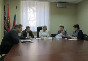 Заседание координационного совета в Донском районе