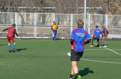 Товарищеский футбольный матч среди студентов состоялся в Донском районе