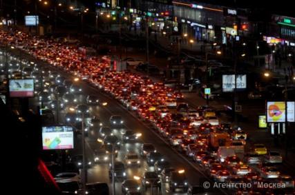 Снижение'пробок на столичных дорогах отмечено мировымовым агентством TomTom