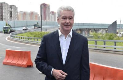 Сергей Собянин рассказал об открытии развязки на Каширском шоссе