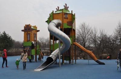 """Одна из площадок располагается в парке """"Садовники"""""""