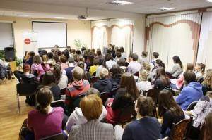 На фото одно из мероприятий в библиотеке №164