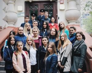 Студенты МГАВТа на экскурсии