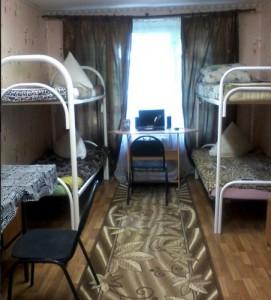 Одна из комнат в общежитии МГАВТа