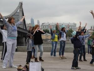 День рождения проекта в прошлом году в Парке Горького