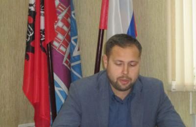 Исполняющий обязанности главы управы Дмитрий Соколов