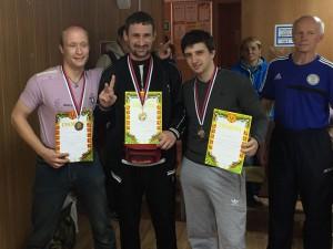 На фото победители соревнований
