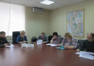 Одно из заседаний координационного совета в Донском районе