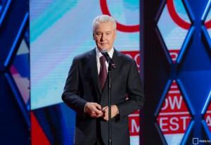 Сергей Собянин  принял участие в открытии кинофестиваля в Москве