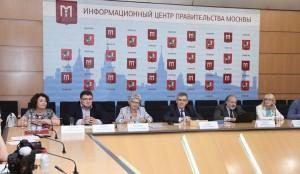 В Москве прошла пресс-конференция Департамента образования