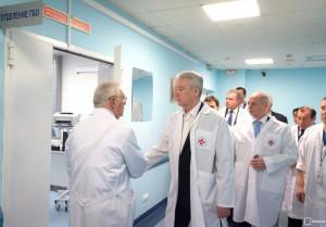 Сергей Собянин рассказал об открытии нового медицинского центра в Москве