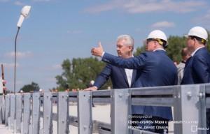 Сергей Собянин рассказал о ходе работ на Ленинградском шоссе